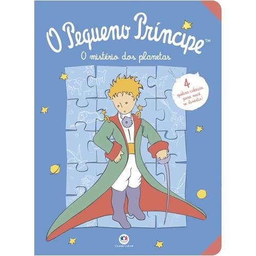 Livro Quebra Cabeca - Pequeno Principe com 4