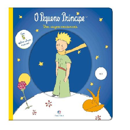 Livro Quebra Cabeça - Pequeno Principe - Uma Viagem Emocionante