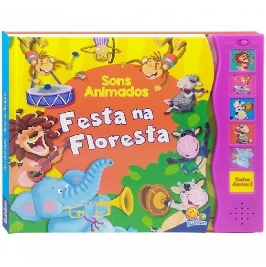 Livro - Sons Animados: Livro Sonoro de Animais