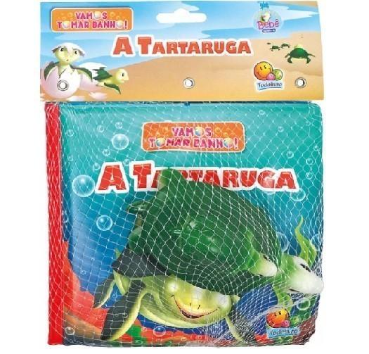 Livro - Vamos Tomar Banho! - A Tartaruga