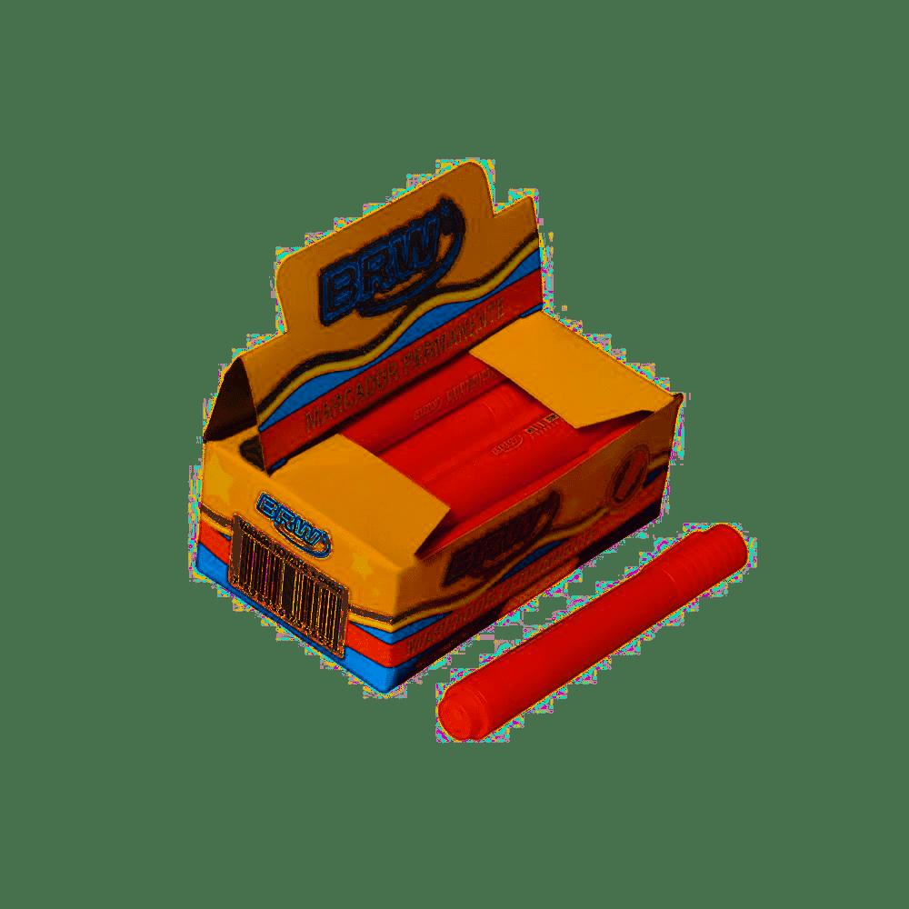 Marcador Permanente VERMELHO (12 Unidades)