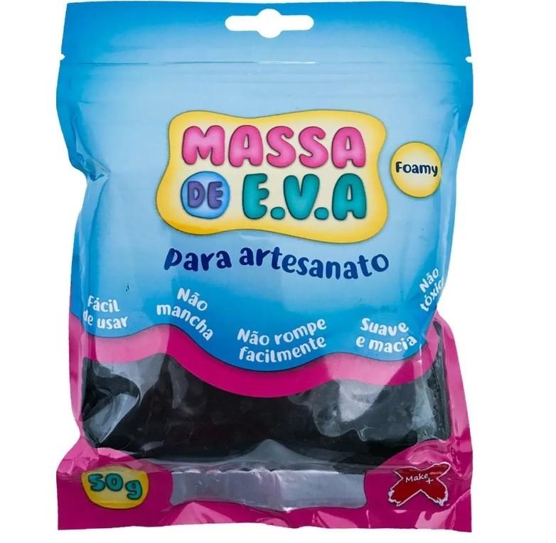 Massa de EVA 50g PRETA - Make+