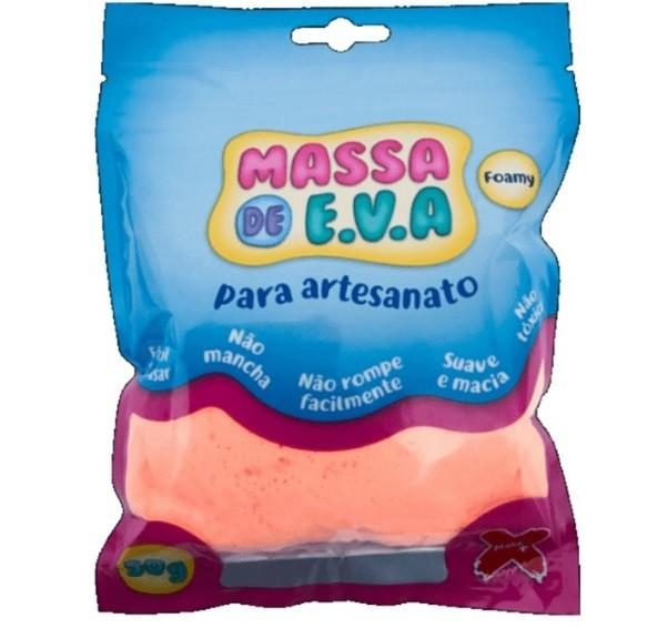 Massa de EVA 50g SALMÃO - Make+
