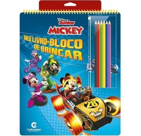 Meu Livro - Bloco de Brincar - Mickey