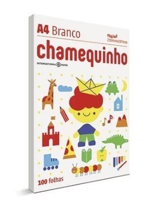 Papel Chamequinho A4 BRANCO - Chamex