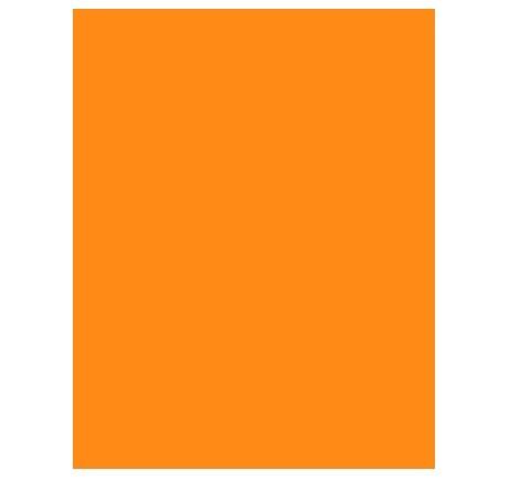Papel Color Set A4 LARANJA - Griffe
