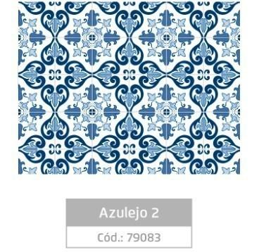 Plástico Adesivo 45cmx10m AZULEJO 2 - Jocar