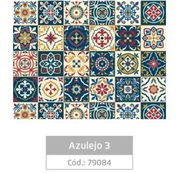 Plástico Adesivo 45cmx10m AZULEJO 3 - Jocar