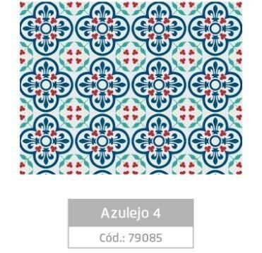 Plástico Adesivo 45cmx10m AZULEJO 4 - Jocar