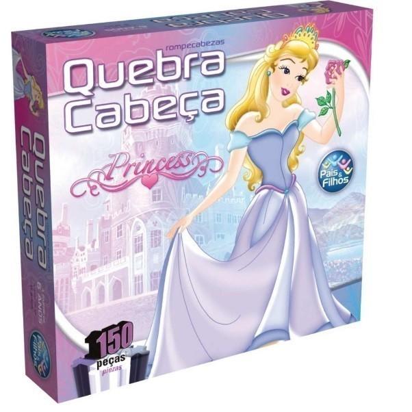 Quebra Cabeça 150 Peças Princesas