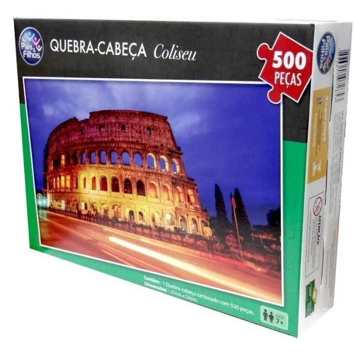 Quebra Cabeça Coliseu 500 Peças