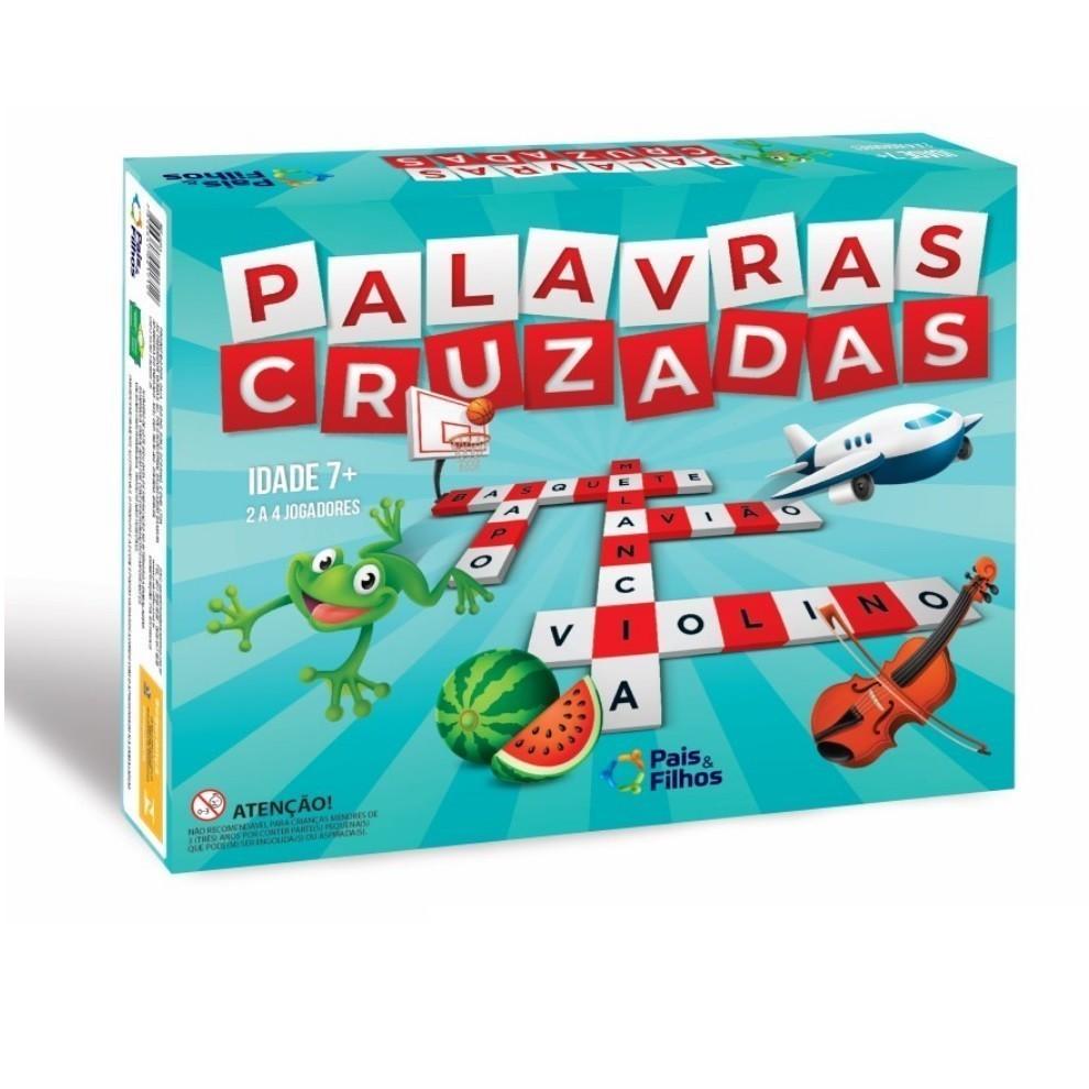 Super Jogos Palavras Cruzadas - Pais & Filhos