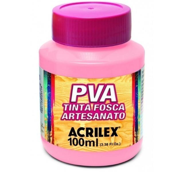 Tinta Fosca para Artes 100ml ROSA 537 - Acrilex