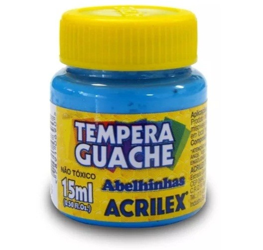 Tinta Guache AZUL CELESTE 15ml 503 - Acrilex