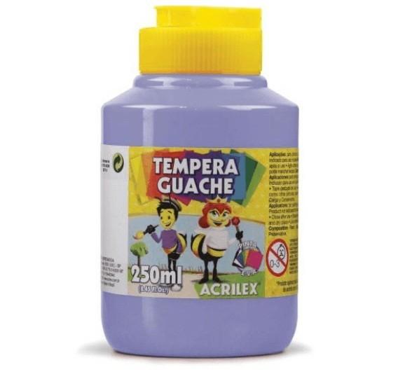 Tinta Guache LILÁS 250ml 501 - PT 03 - Acrilex