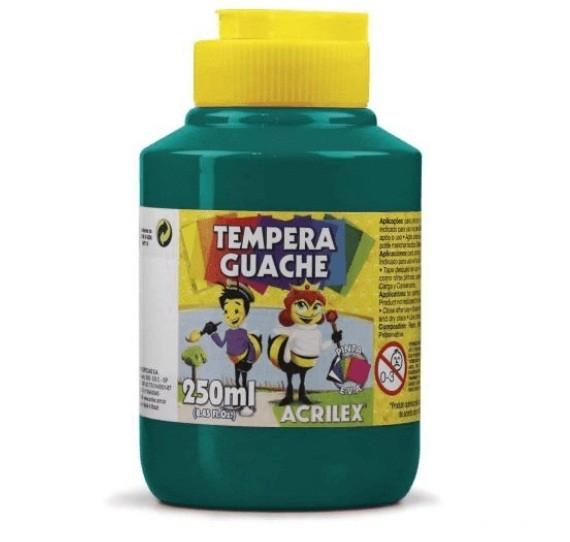 Tinta Guache VERDE BANDEIRA 250ml - PT 03 - 511 - Acrilex