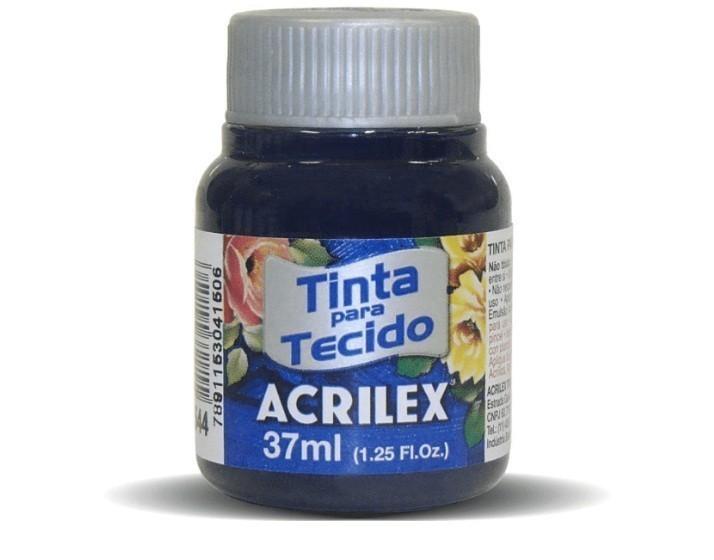 Tinta para Tecido Fosca AZUL MARINHO 37ml 544 - Acrilex