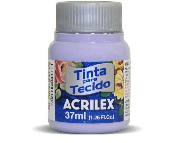 Tinta para Tecido Fosca LILÁS 37ml 528 - Acrilex