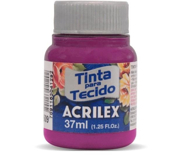 Tinta para Tecido Fosca MAGENTA 37ml 549 - Acrilex