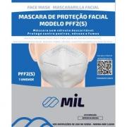 Máscara De Proteção Facial PFF2 - Mil