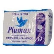 Papel Interfolha 100% celulose 23x21cm Plumax c/ 1000 folhas