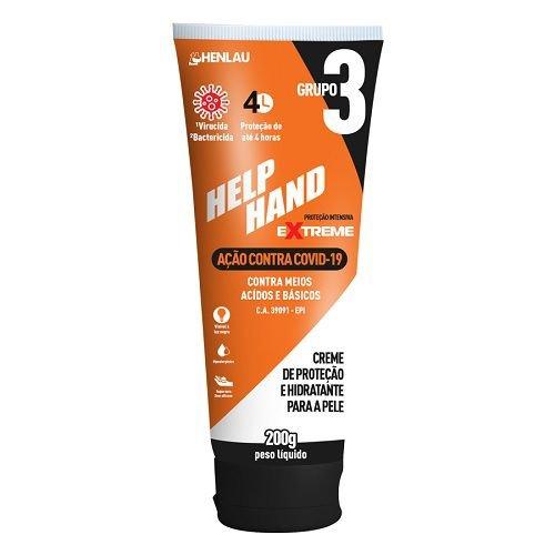 Creme Protetor Help Hand Extreme Covid -19 200gr