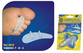 Estribos Siligel para Dedos em Garra Tipo Encaixe 4016 Orthopauer - Orthopauher