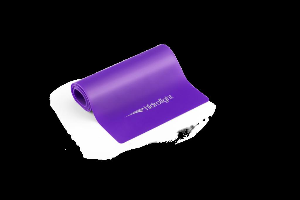 Faixa elástica moderada lilás Hidrolight 152x15cm