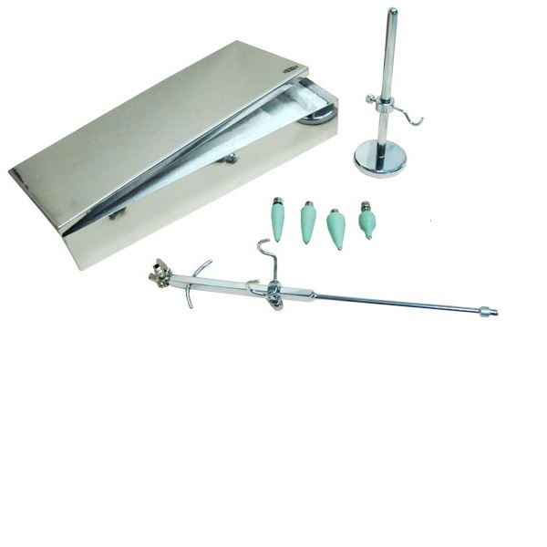 Histerosalpingógrafo completo c/ caixa de esterilização