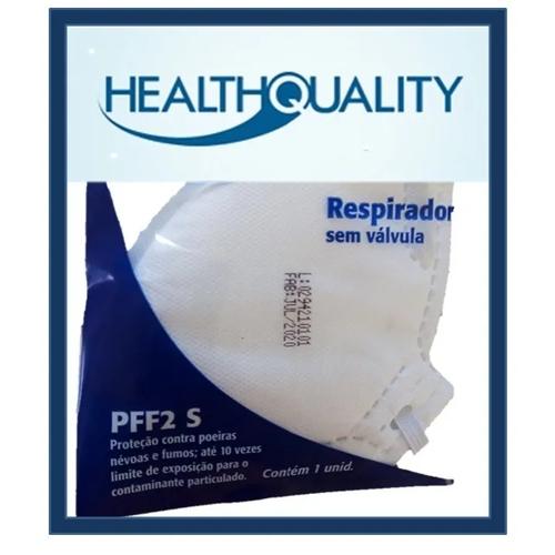 Máscara PFF2 Health Quality sem válvula