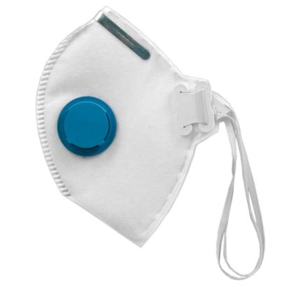 Máscara Res. PFF2 com válvula CA 10578 KSN 20.02 - Cor Branco