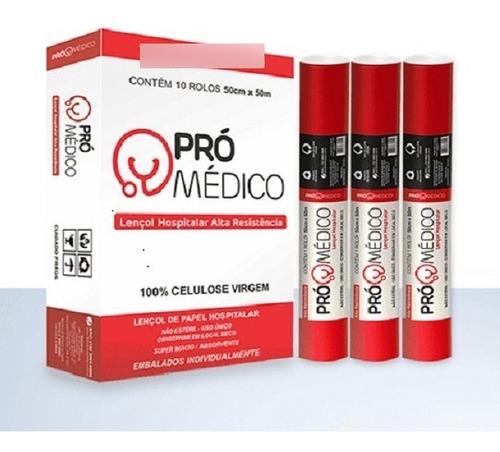 Papel Lençol 50x50 Pro-Médico Plumax