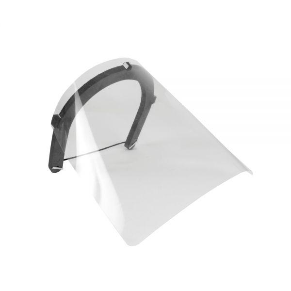 Protetor Face Shield Comfort Ultra Leve Ortho Pauher AC154 Preto