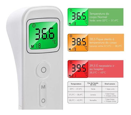 Termômetro digital sem contato E-127 Bioland
