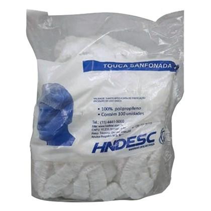 Touca sanfonada c/ 100 HNDESC