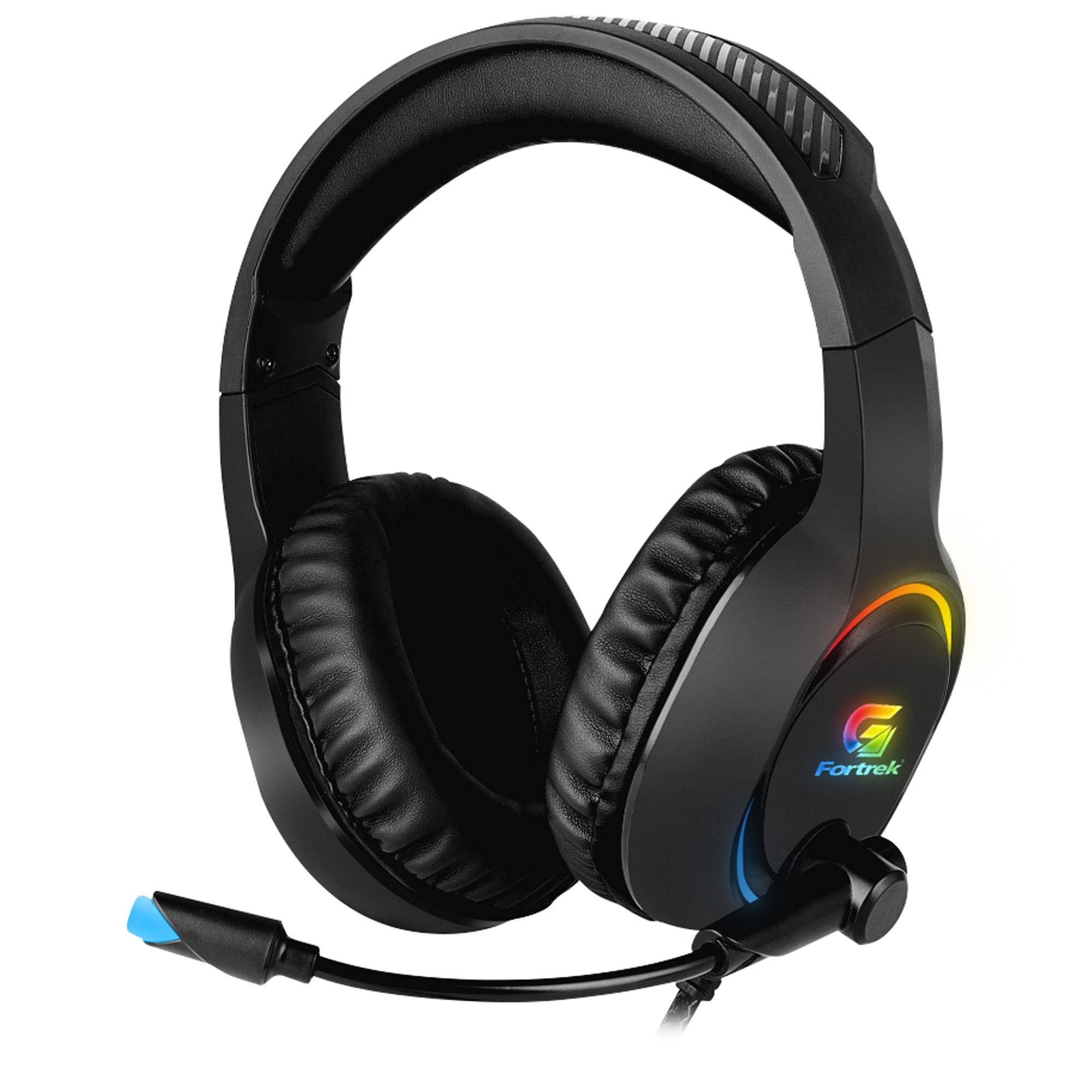 Headset Gamer RGB Holt P2 Fortrek