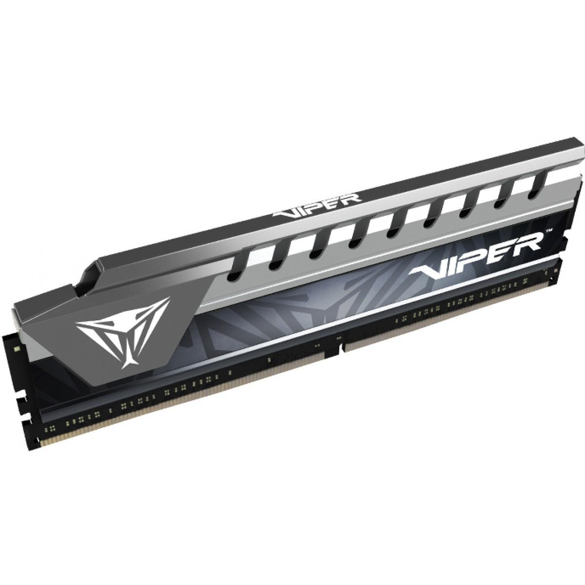 Memória RAM DDR4 Patriot Viper Elite, 8GB 2666MHz, Silver