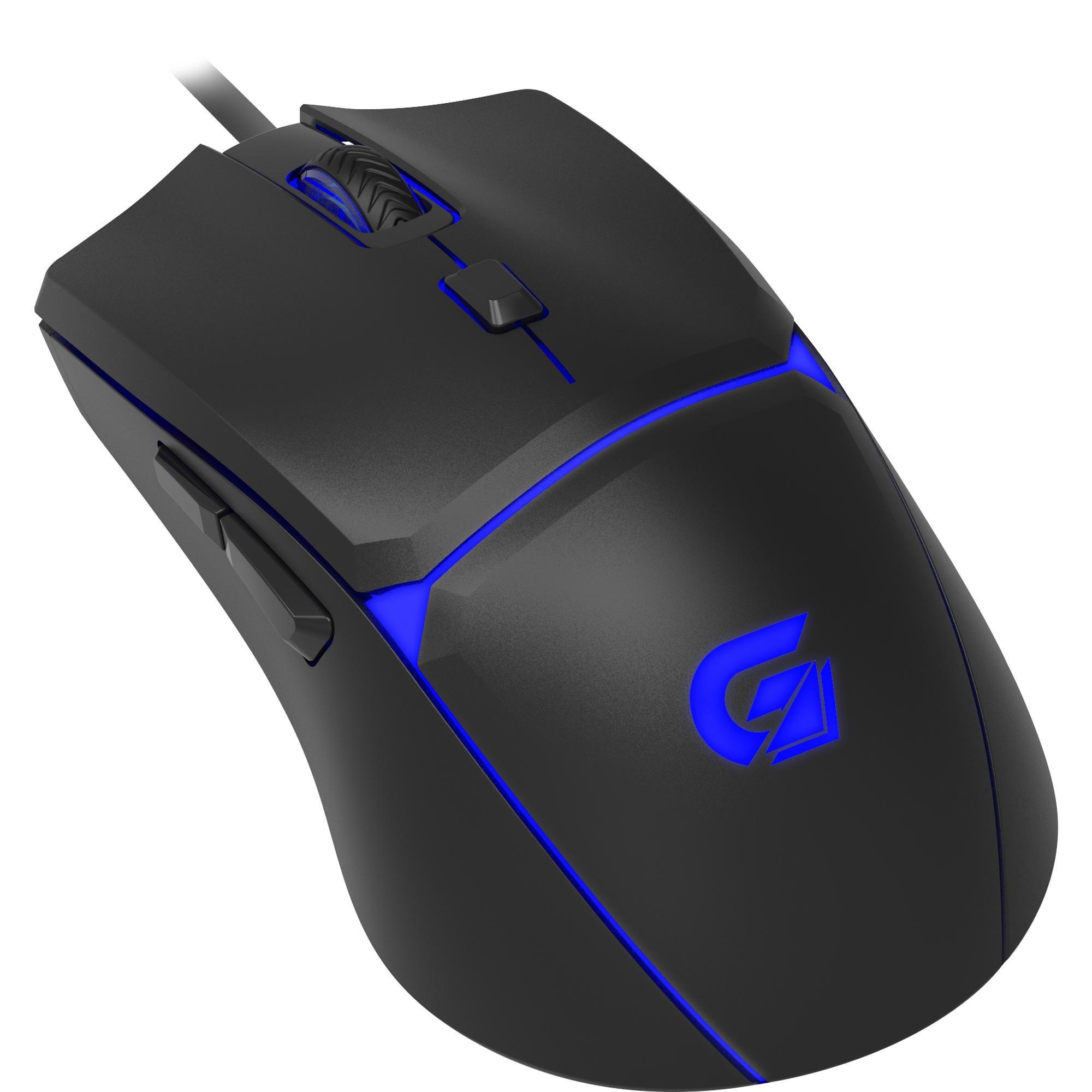 Mouse Gamer RGB Crusader 7200DPI Fortrek