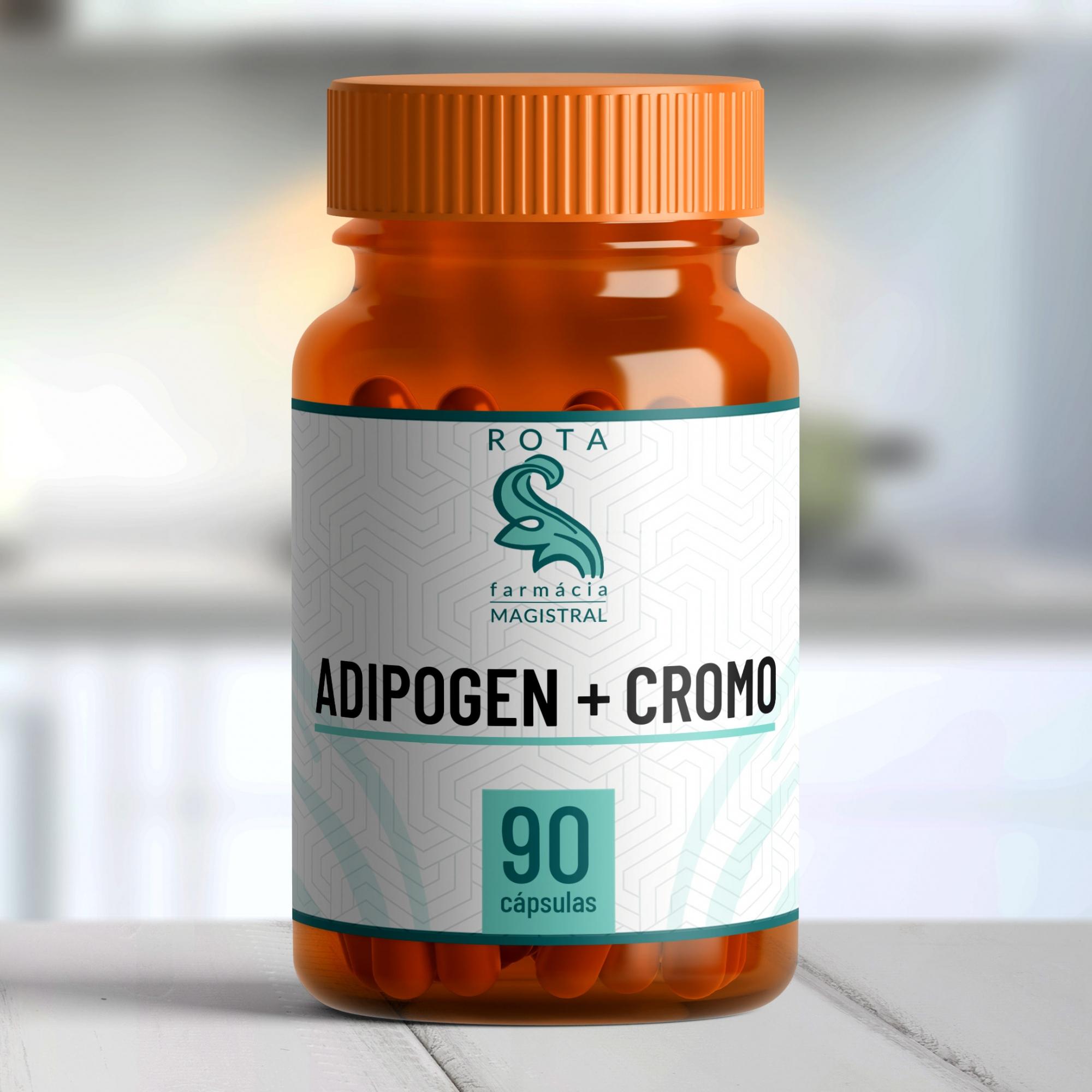 Adipogen + Cromo 90 cápsulas