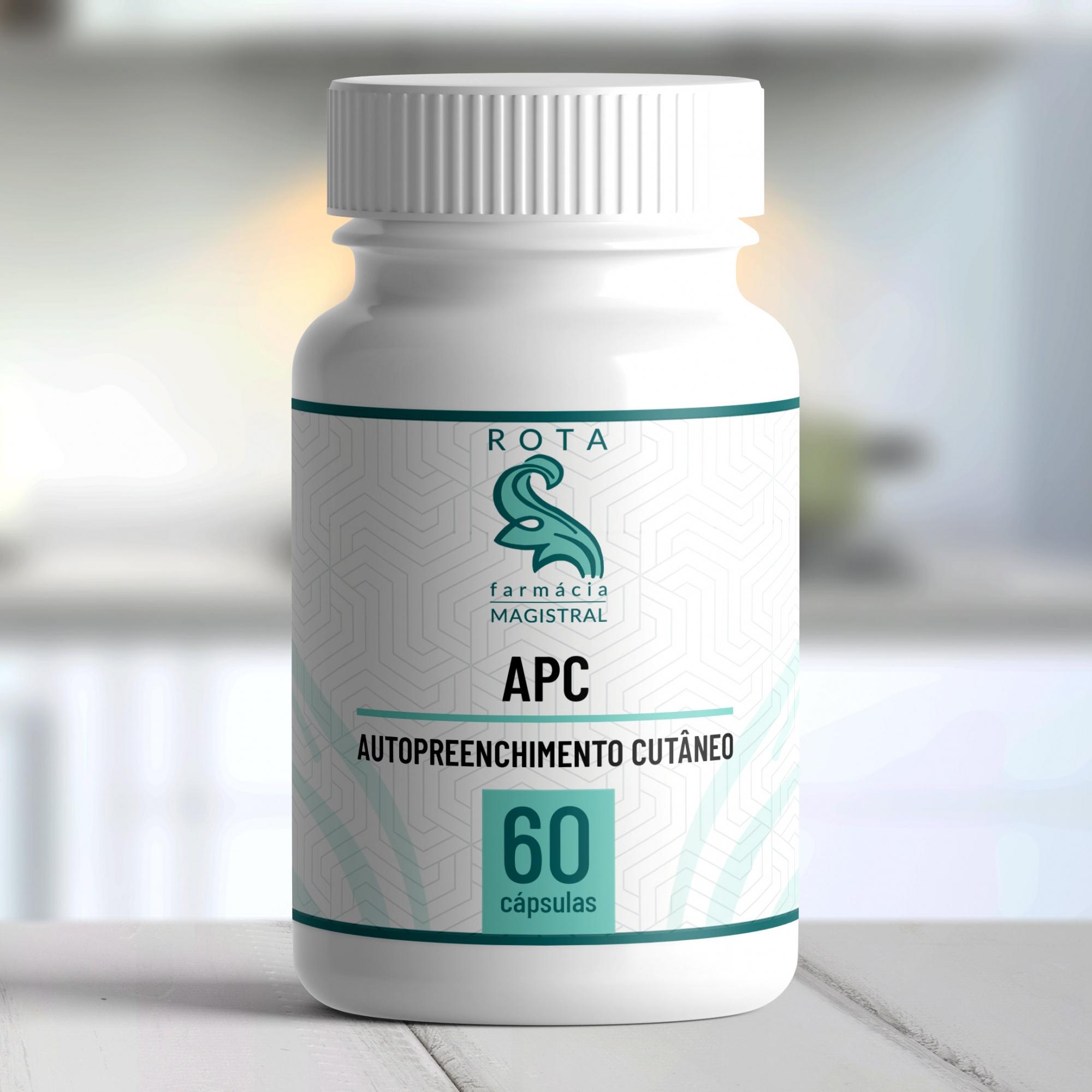 APC (Autopreenchimento cutâneo) 60 cápsulas