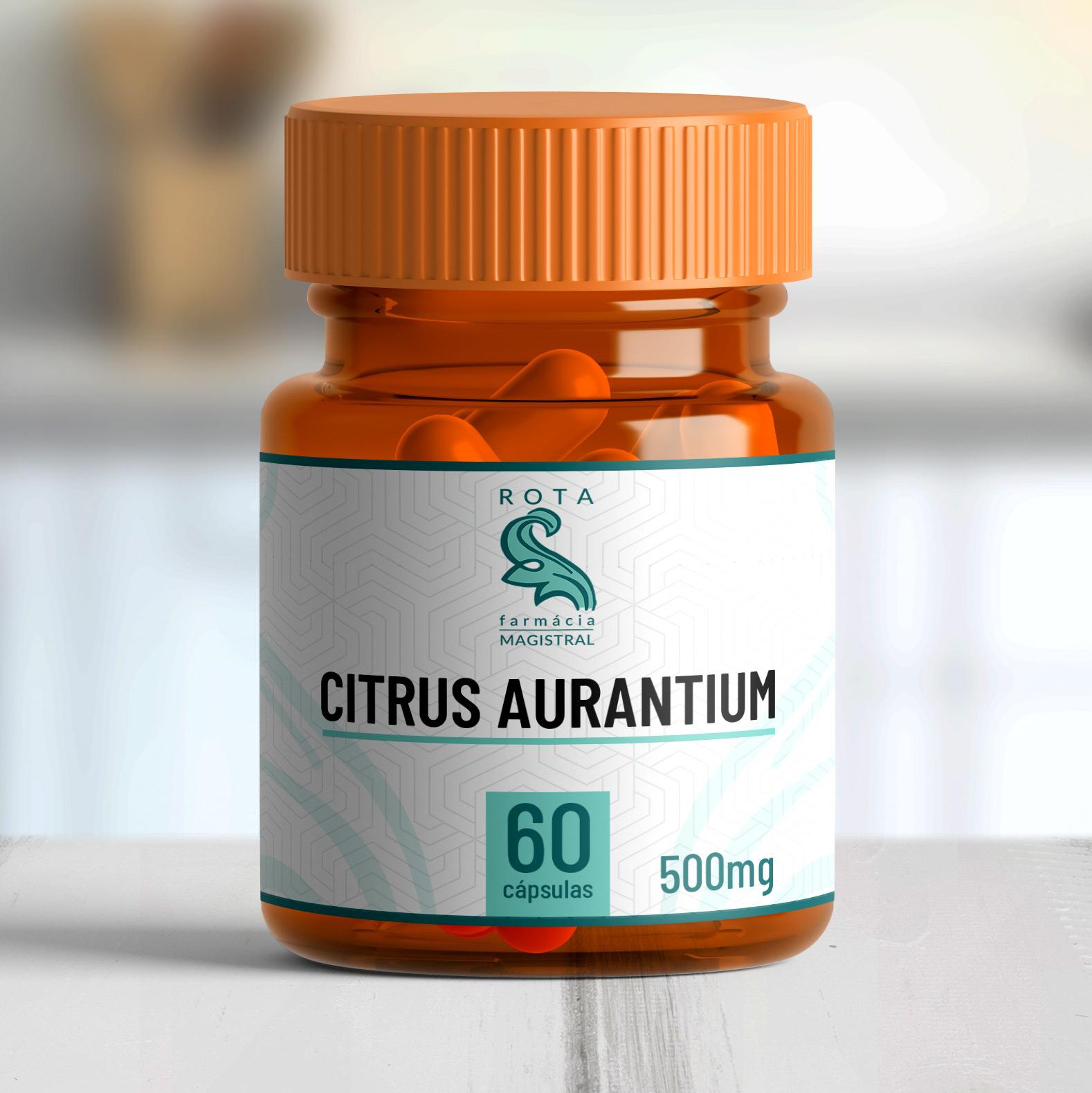 Citrus Aurantium 350mg 60 cápsulas