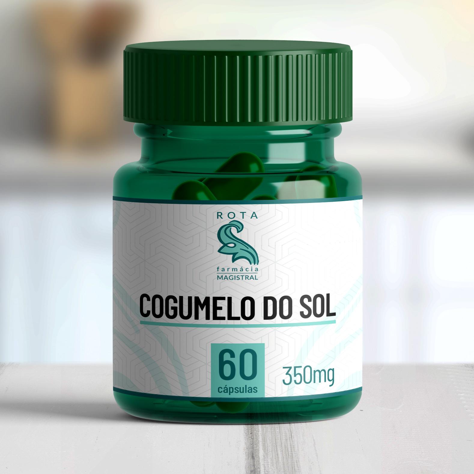 Cogumelo do Sol 350mg 60 cápsulas
