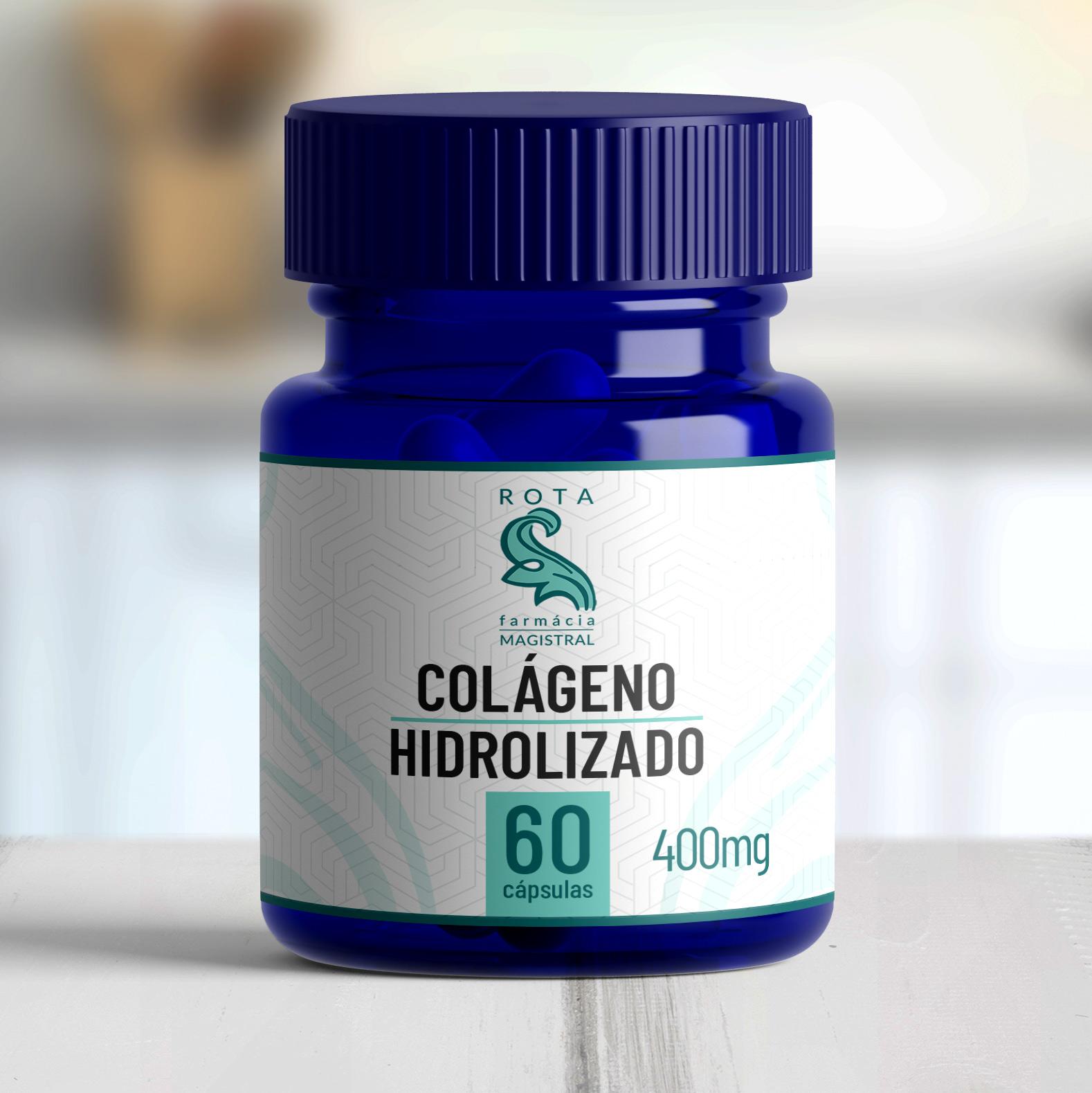 Colágeno Hidrolizado 400mg 60 cápsulas