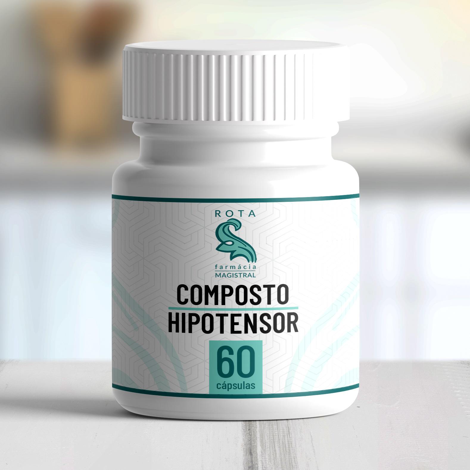 Composto Hipotensor 60 cápsulas