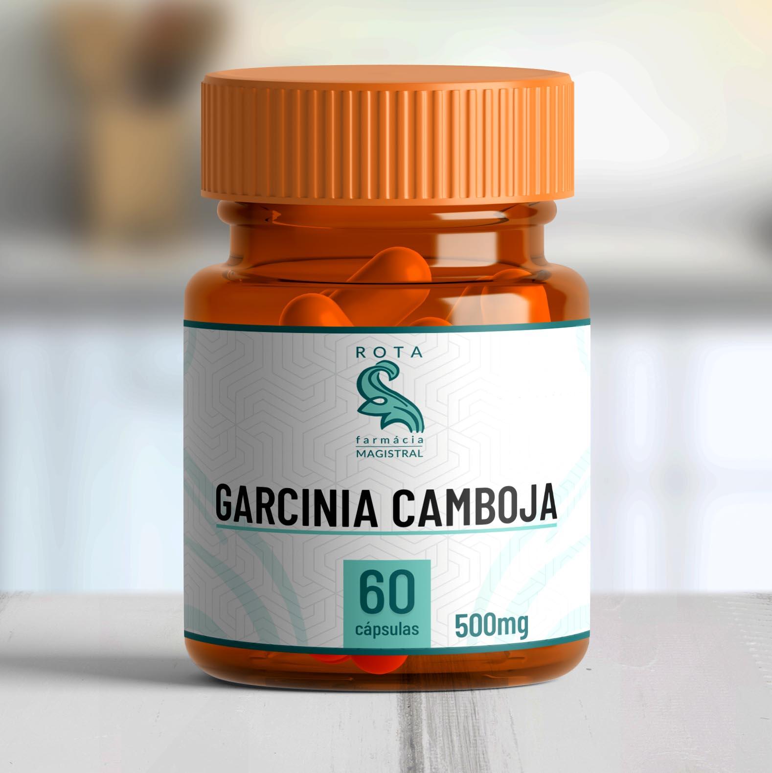 Garcinia Camboja 500mg 60 cápsulas