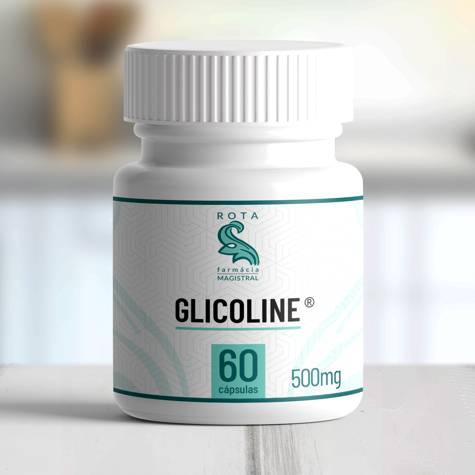 Glicoline ® 500mg 60 cápsulas
