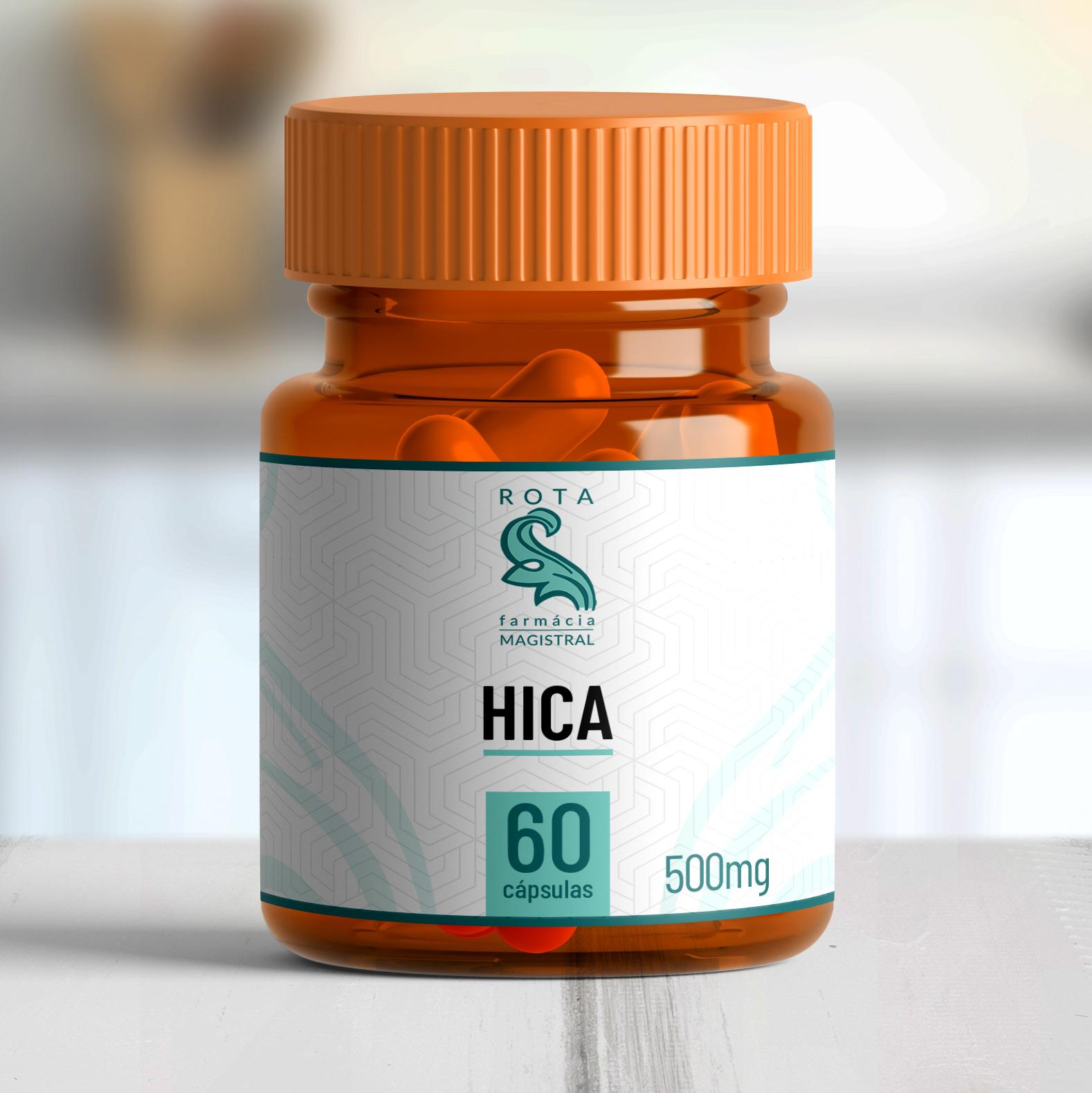 HICA 500mg 60 cápsulas
