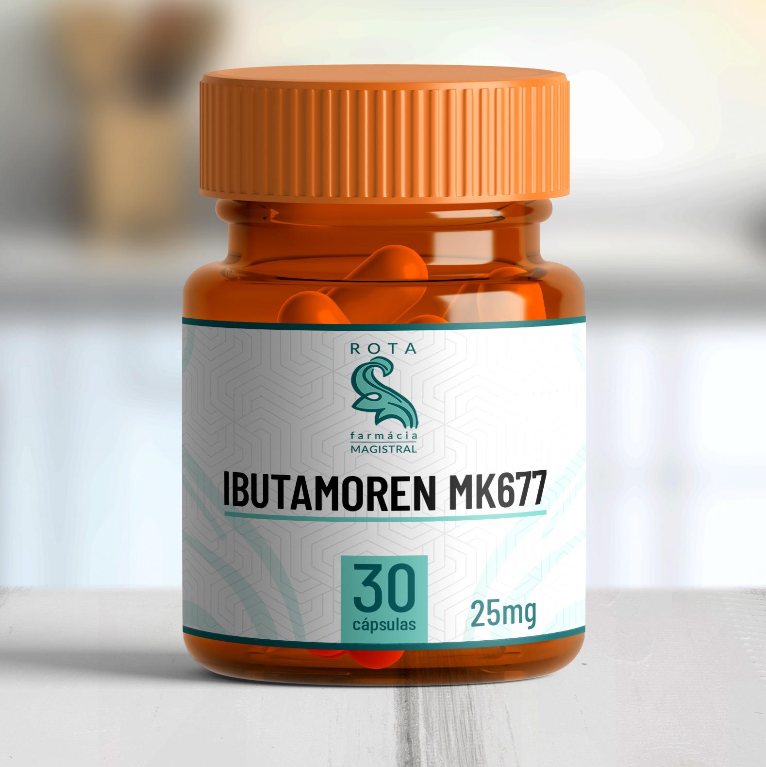 Ibutamoren MK677 25mg 30 cápsulas