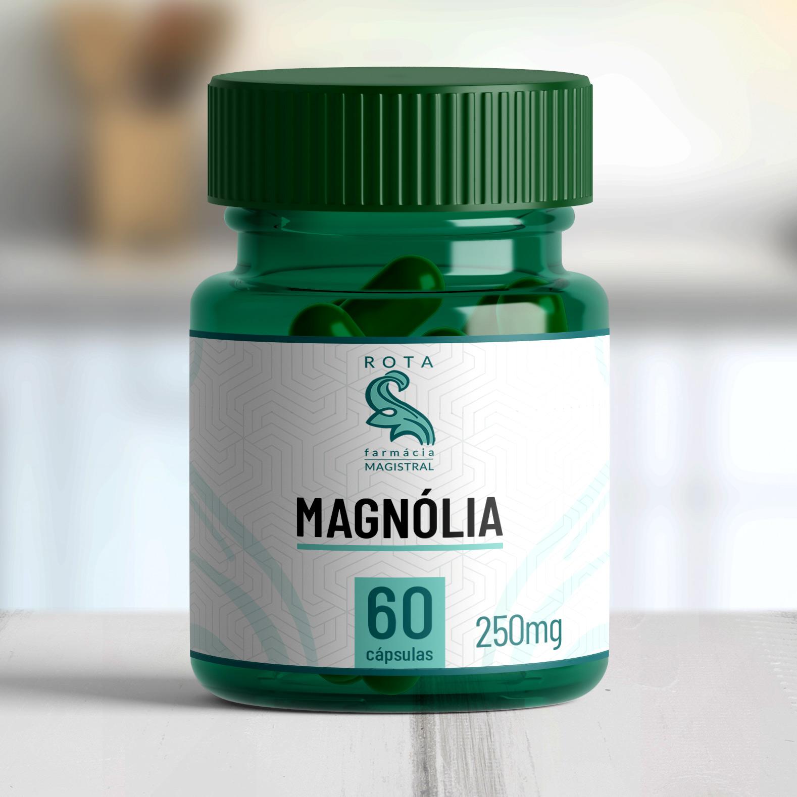 Magnólia 250mg 60 cápsulas