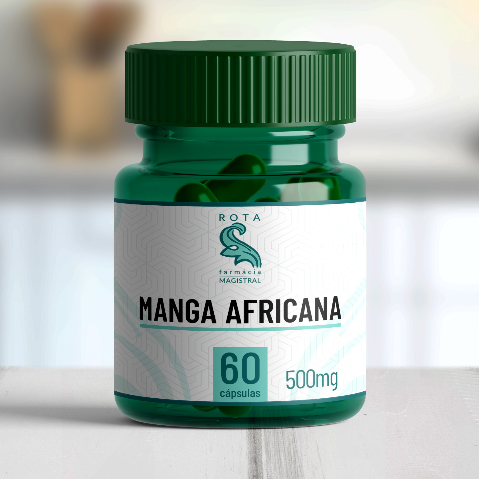 Manga Africana 500mg 60 cápsulas